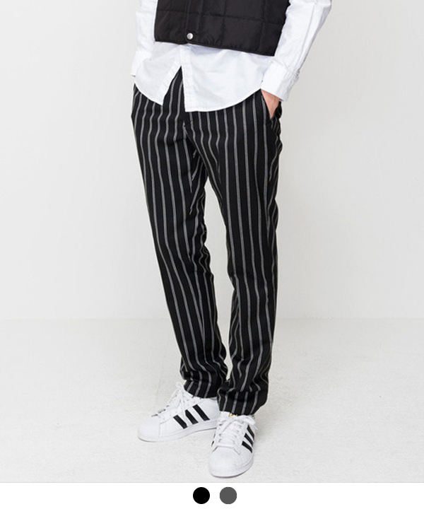 Pajamas Stripe TR Slim Slacks