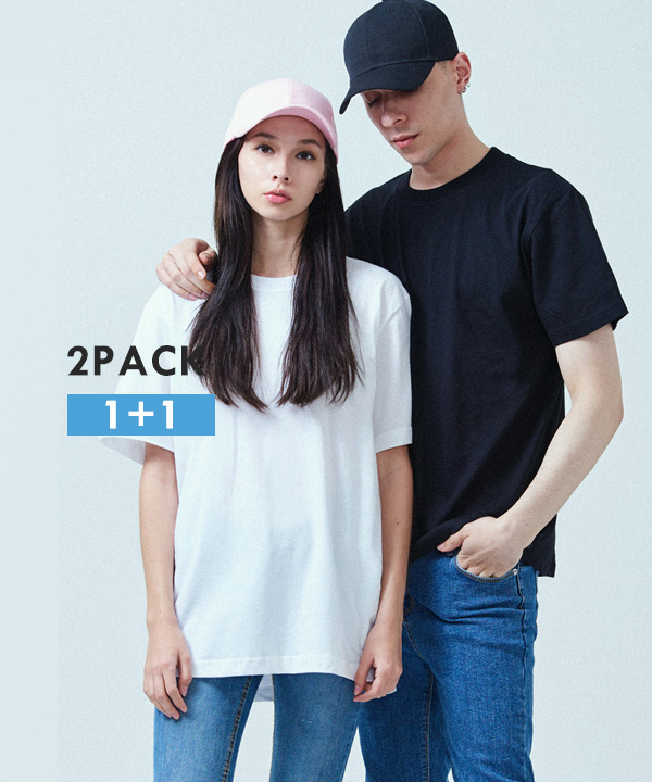 [2PACK] COOL BASIC T-SHIRTS