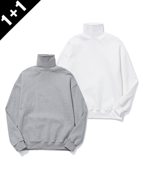 [1+1] TURTLENECK SWEATSHIRTS