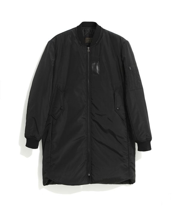 [MA-1 6oz] Long Padding Jacket